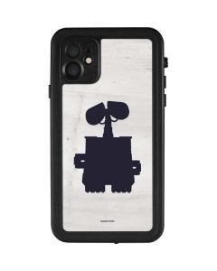 WALL-E Silhouette iPhone 11 Waterproof Case