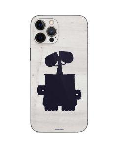 WALL-E Silhouette iPhone 12 Pro Skin