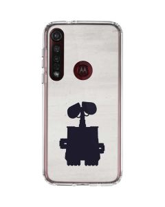 WALL-E Silhouette Moto G8 Plus Clear Case