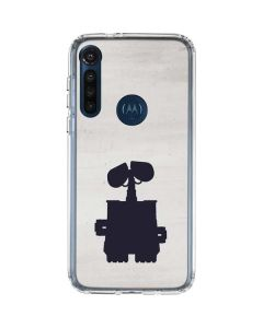 WALL-E Silhouette Moto G8 Power Clear Case