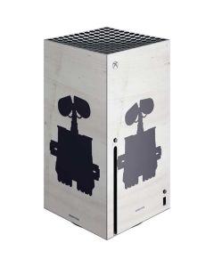 WALL-E Silhouette Xbox Series X Console Skin