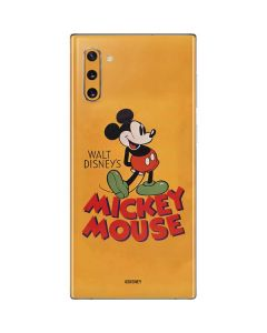 Walt Disney Mickey Mouse Galaxy Note 10 Skin