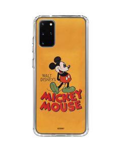 Walt Disney Mickey Mouse Galaxy S20 Plus Clear Case