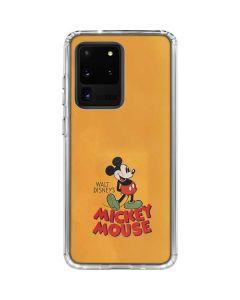 Walt Disney Mickey Mouse Galaxy S20 Ultra 5G Clear Case