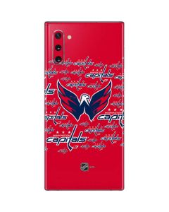 Washington Capitals Blast Galaxy Note 10 Skin