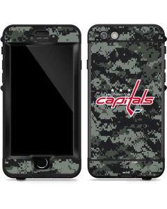 Washington Capitals Camo LifeProof Nuud iPhone Skin