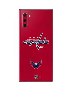 Washington Capitals Distressed Galaxy Note 10 Skin