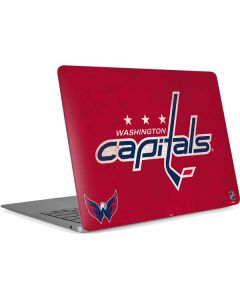 Washington Capitals Distressed Apple MacBook Air Skin