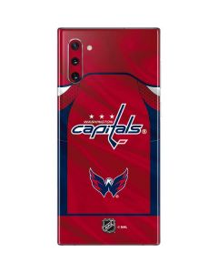 Washington Capitals Home Jersey Galaxy Note 10 Skin