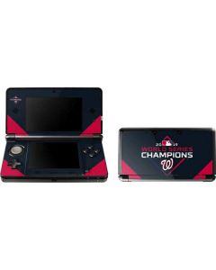 Washington Nationals 2019 World Series Champions 3DS (2011) Skin