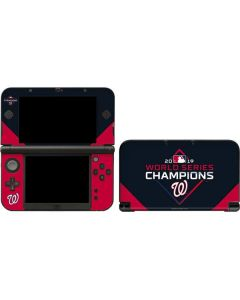 Washington Nationals 2019 World Series Champions 3DS XL 2015 Skin