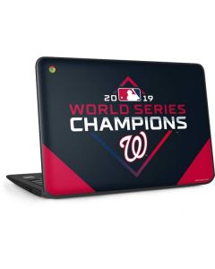 Washington Nationals 2019 World Series Champions HP Chromebook Skin