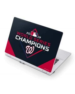 Washington Nationals 2019 World Series Champions Acer Chromebook Skin