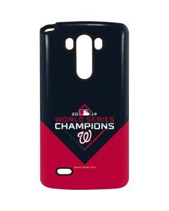 Washington Nationals 2019 World Series Champions G3 Stylus Pro Case