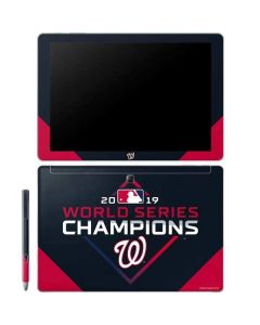 Washington Nationals 2019 World Series Champions Galaxy Book 10.6in Skin
