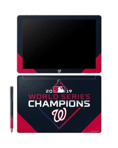Washington Nationals 2019 World Series Champions Galaxy Book 12in Skin