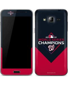 Washington Nationals 2019 World Series Champions Galaxy J3 Skin