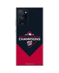 Washington Nationals 2019 World Series Champions Galaxy Note20 Ultra 5G Skin