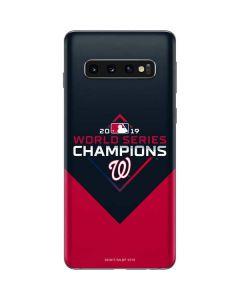 Washington Nationals 2019 World Series Champions Galaxy S10 Skin
