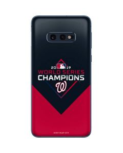 Washington Nationals 2019 World Series Champions Galaxy S10e Skin