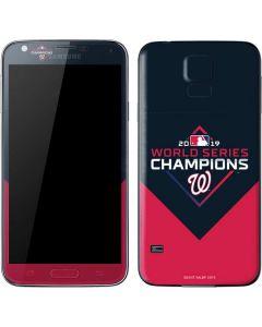 Washington Nationals 2019 World Series Champions Galaxy S5 Skin