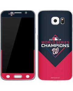 Washington Nationals 2019 World Series Champions Galaxy S6 Skin