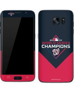 Washington Nationals 2019 World Series Champions Galaxy S7 Skin