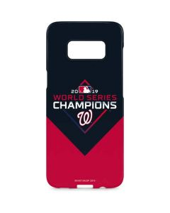 Washington Nationals 2019 World Series Champions Galaxy S8 Plus Lite Case