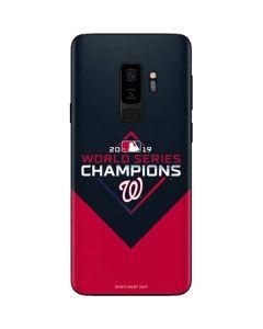 Washington Nationals 2019 World Series Champions Galaxy S9 Plus Skin