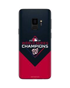 Washington Nationals 2019 World Series Champions Galaxy S9 Skin