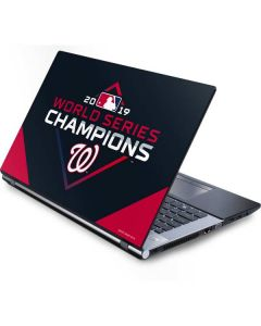 Washington Nationals 2019 World Series Champions Generic Laptop Skin