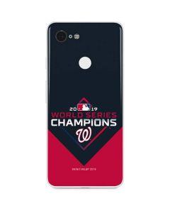 Washington Nationals 2019 World Series Champions Google Pixel 3 Skin