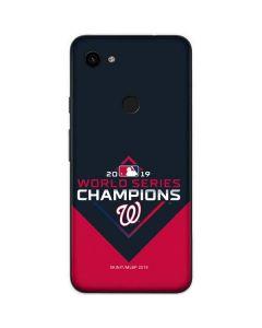 Washington Nationals 2019 World Series Champions Google Pixel 3a XL Skin