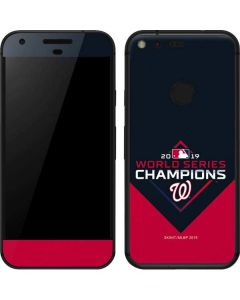 Washington Nationals 2019 World Series Champions Google Pixel XL Skin