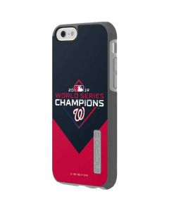 Washington Nationals 2019 World Series Champions Incipio DualPro Shine iPhone 6 Skin