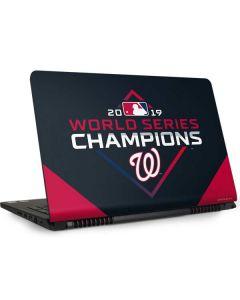 Washington Nationals 2019 World Series Champions Dell Inspiron Skin