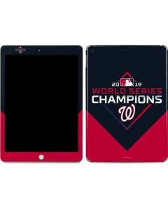Washington Nationals 2019 World Series Champions Apple iPad Skin