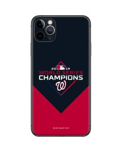Washington Nationals 2019 World Series Champions iPhone 11 Pro Max Skin