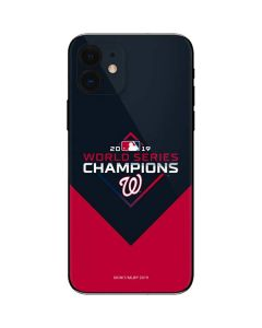 Washington Nationals 2019 World Series Champions iPhone 12 Skin