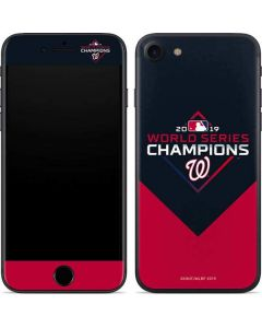 Washington Nationals 2019 World Series Champions iPhone SE Skin