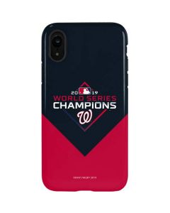 Washington Nationals 2019 World Series Champions iPhone XR Pro Case
