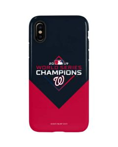 Washington Nationals 2019 World Series Champions iPhone XS Max Pro Case