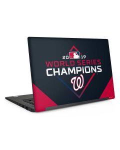 Washington Nationals 2019 World Series Champions Dell Latitude Skin