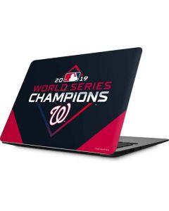 Washington Nationals 2019 World Series Champions Apple MacBook Skin
