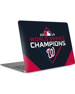 Washington Nationals 2019 World Series Champions Apple MacBook Air Skin