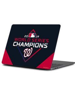 Washington Nationals 2019 World Series Champions Apple MacBook Pro 13-inch Skin