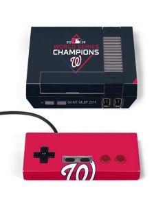 Washington Nationals 2019 World Series Champions NES Classic Edition Skin