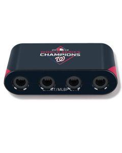Washington Nationals 2019 World Series Champions Nintendo GameCube Controller Adapter Skin