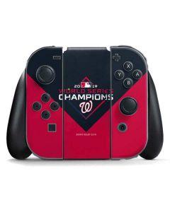 Washington Nationals 2019 World Series Champions Nintendo Switch Joy Con Controller Skin