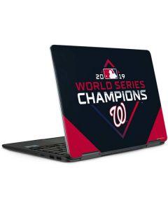 Washington Nationals 2019 World Series Champions Notebook 9 Pro 13in (2017) Skin